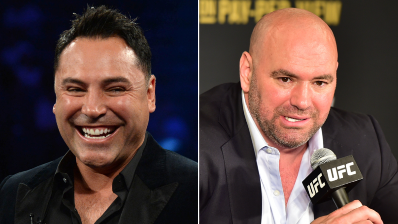 Oscar De La Hoya Challenges Dana White To Fight, He Accepts Under One Condition