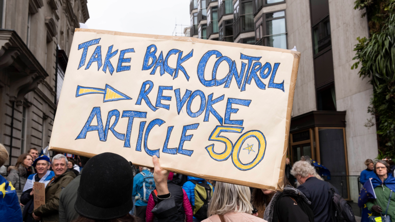 The Government Has Officially Rejected The Petition To Revoke Article 50
