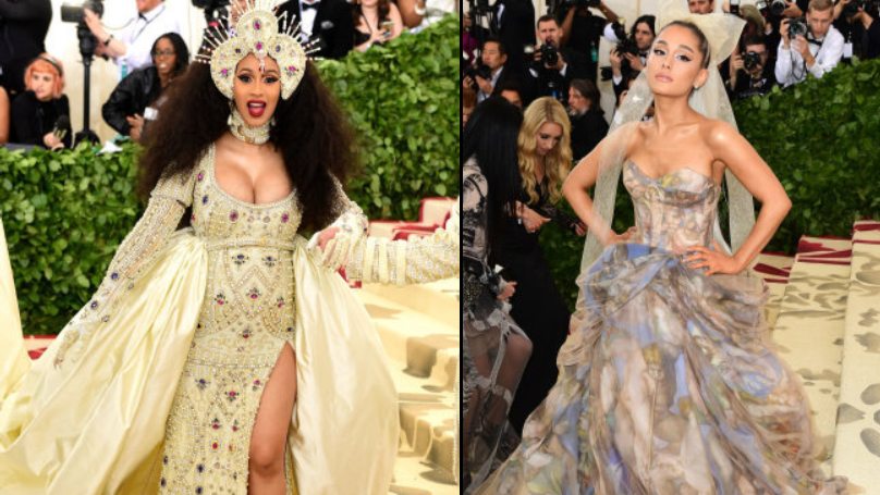 Social Media Uproar As People Realise Cardi B And Ariana Grande Are Same Age