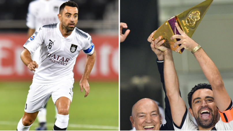 Xavi Has Recorded 65 Assists In 100 Appearances For Al-Sadd