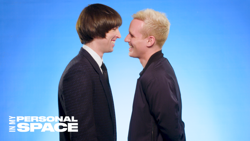 In My Personal Space Challenge: Jamie Laing