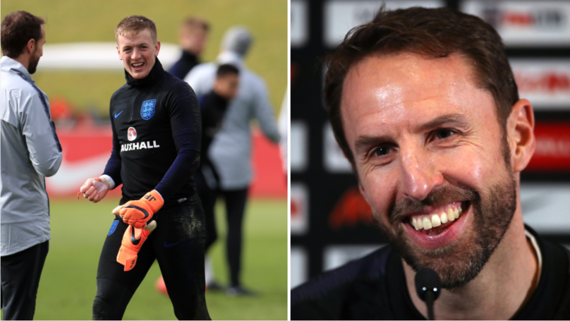 Gareth Southgate Picks Jordan Pickford For Netherlands Game