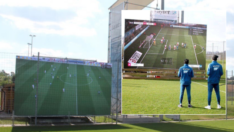 Map Of Germany Hoffenheim.Hoffenheim Install Giant Screen At Training Ground For Players To
