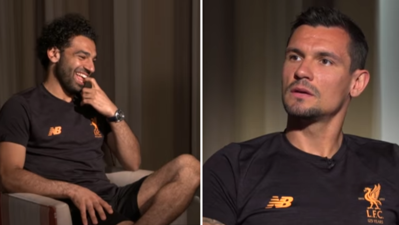 Lovren Asks Salah Why He 'Doesn't Smile' When Celebrating, Gives Hilarious Response