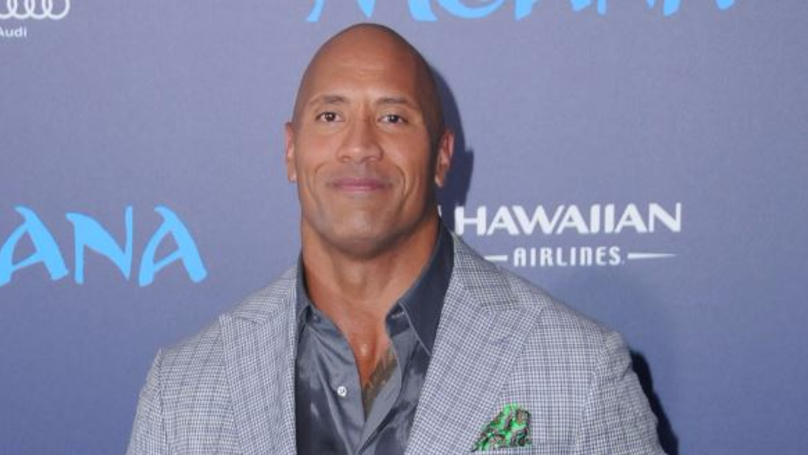 The Rock Brings All His Weights To Set...And We Mean All!