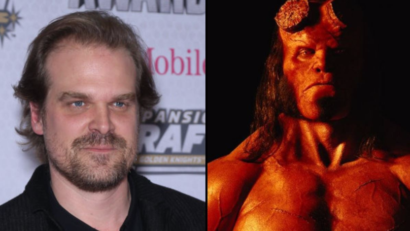 ​David Harbour From 'Stranger Things' Has Got Seriously Hench To Play 'Hellboy'