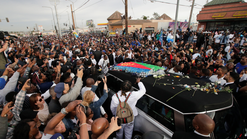 One Person Killed And Three Injured During Drive-By At Nipsey Hussle's Funeral