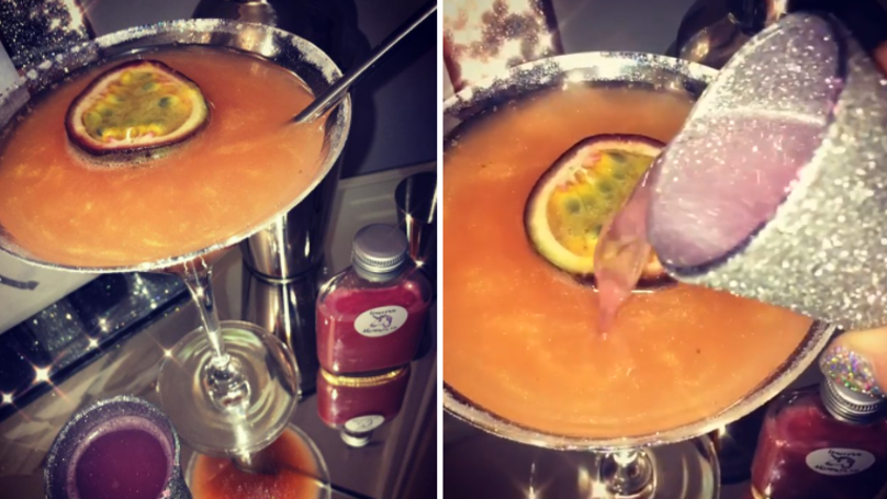 Shimmery Pornstar Martinis Are The Dreamiest Cocktails Around