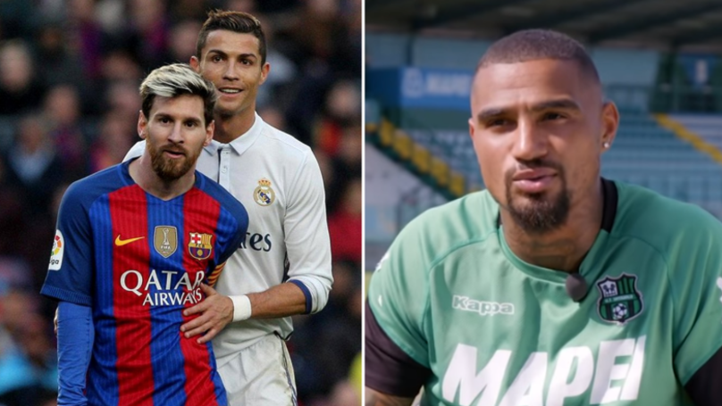 Kevin-Prince Boateng's Answer When Asked Ronaldo Or Messi Is Superb