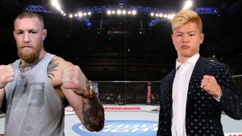 Conor McGregor Requests To Fight Tenshin Nasukawa In A MMA Exhibition Bout