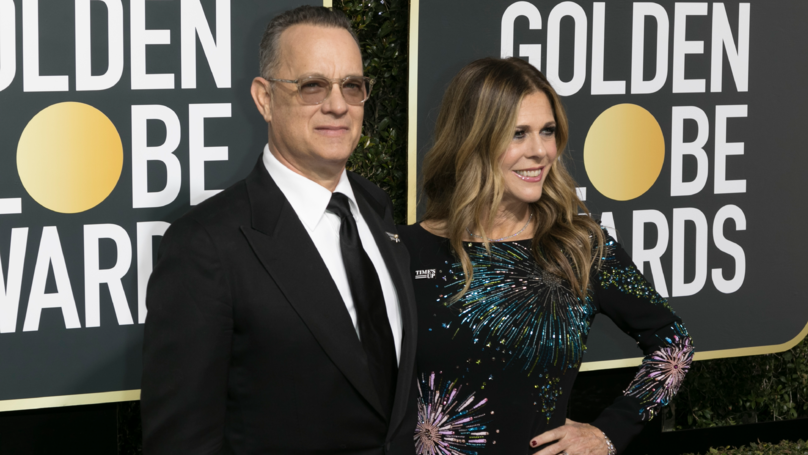 Tom Hanks Called A 'Hero' For His Down-To-Earth Golden Globes Behaviour
