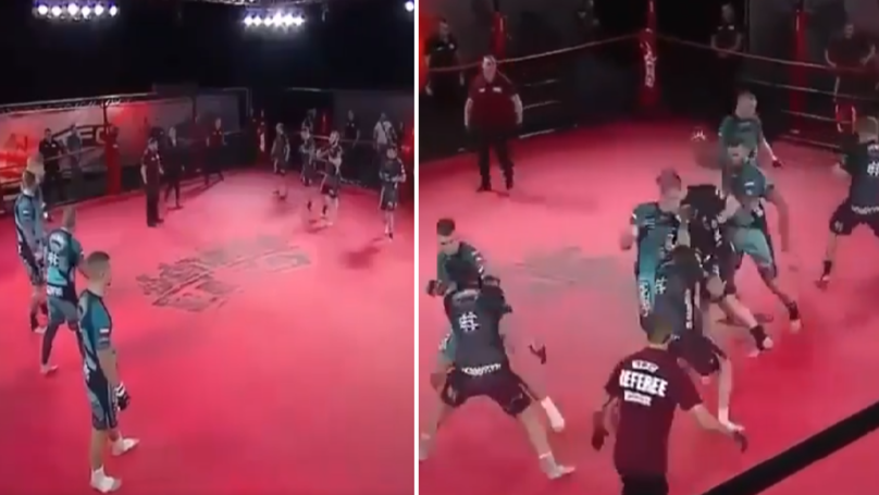Five-On-Five MMA Fights Are A Thing And It's Absolute Madness