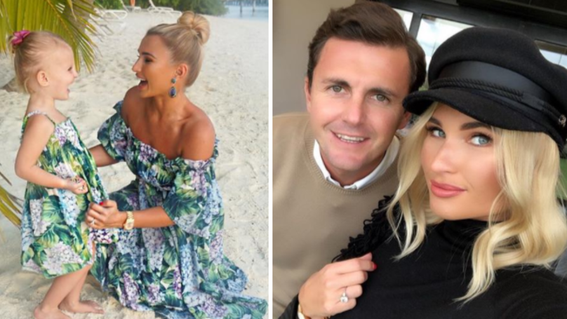Billie Faiers And Greg Shepherd Debate Whether Their Daughter Should Wear A Bikini