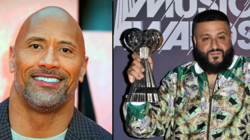 Dwayne Johnson Speaks Out After DJ Khaled Admits He Doesn't Go Down On His Missus