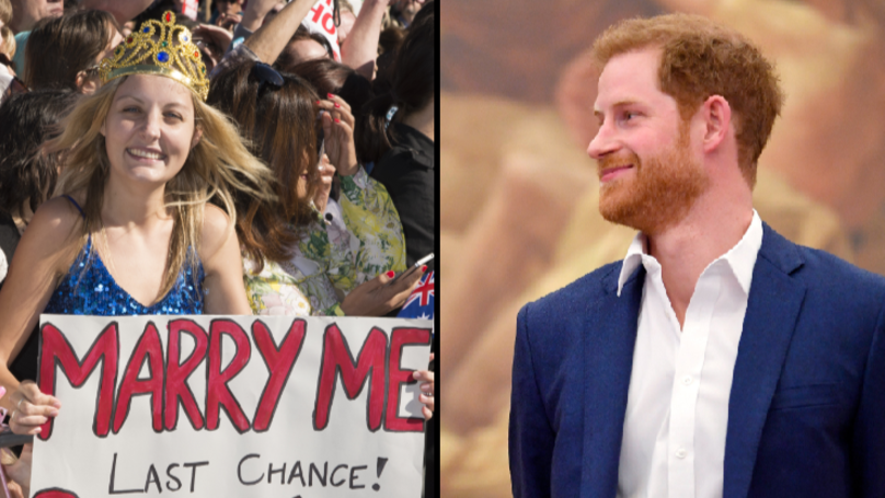 Aussie Woman To Stand Outside Prince Harry's Wedding In Full Bridal Gown