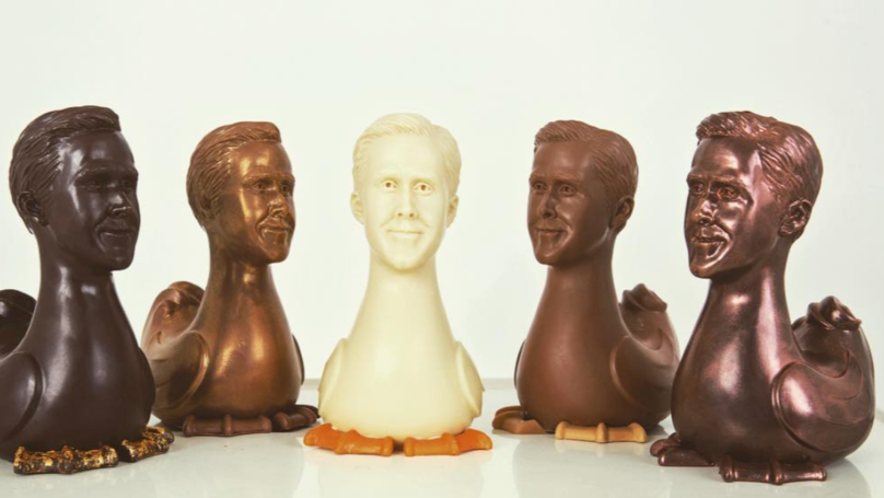 Hey Girl, You Can Now Buy A Ryan Gosling Easter Egg - And It's Vegan Too