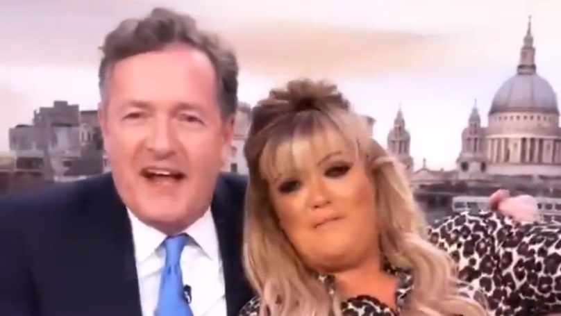 Gemma Collins Tells Piers Morgan He Could 'Educate' Her In The Bedroom