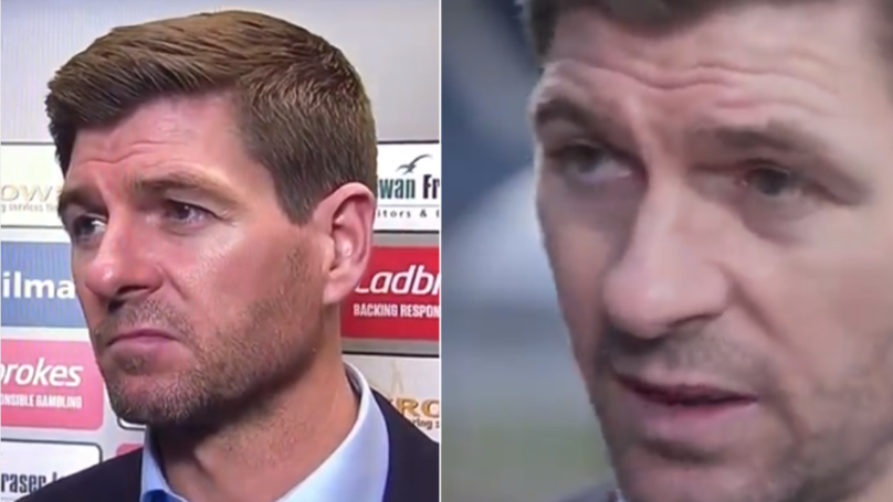Steven Gerrard Delivers His Most Ruthless Interview Yet After Draw Against Dundee