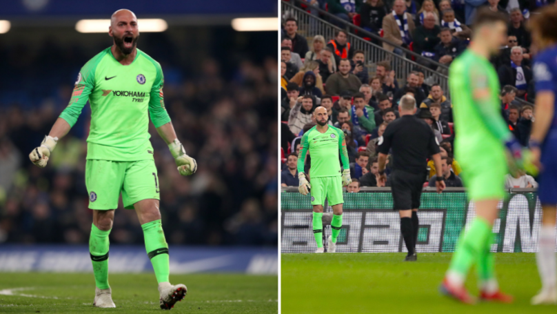 Willy Caballero Reveals What He Said To Kepa