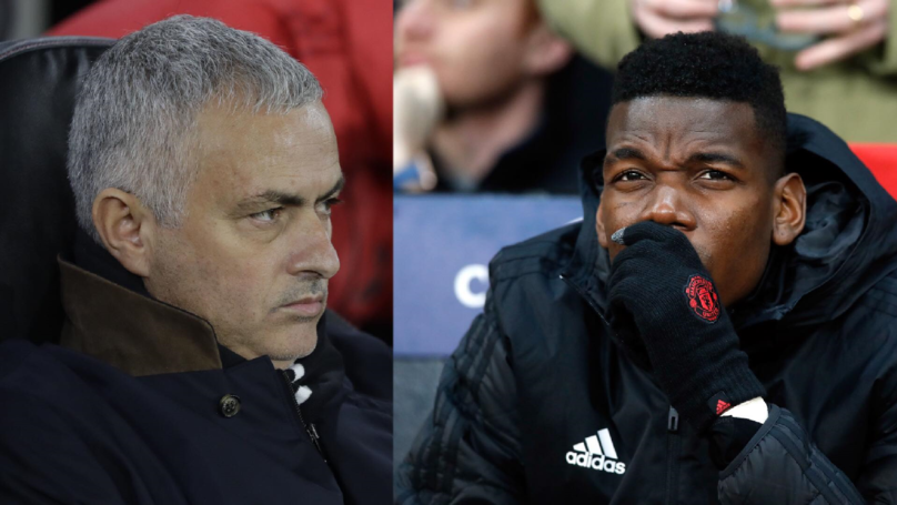Mourinho Calls Pogba A 'Virus' As Feud Continues