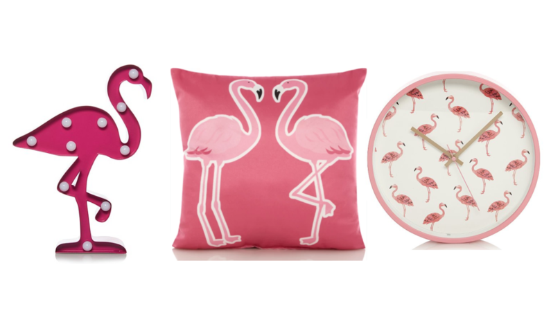 ASDA's Flamingo Homeware Range Is Full Of Tropical Vibes