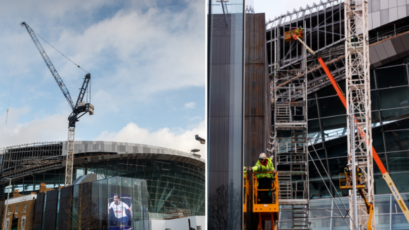 Spurs Fan Shows How Much More Work Is Needed On Stadium