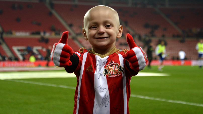 Terminally Ill Bradley Lowery Has Been Sent Over 28,000 X-mas Cards Following Appeal