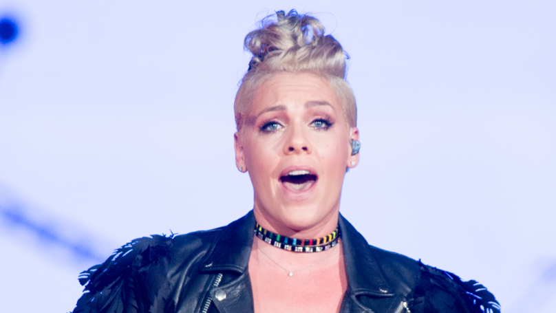 Pink Claps Back At Fan Criticising Her Husband's Parenting Skills With Epic Rant