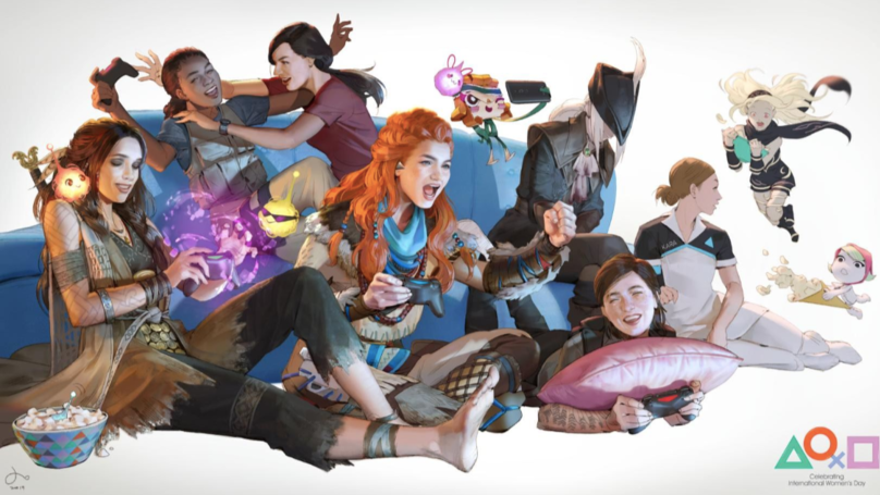 PlayStation Marks International Women's Day 2019 With Gorgeous New PS4 Theme