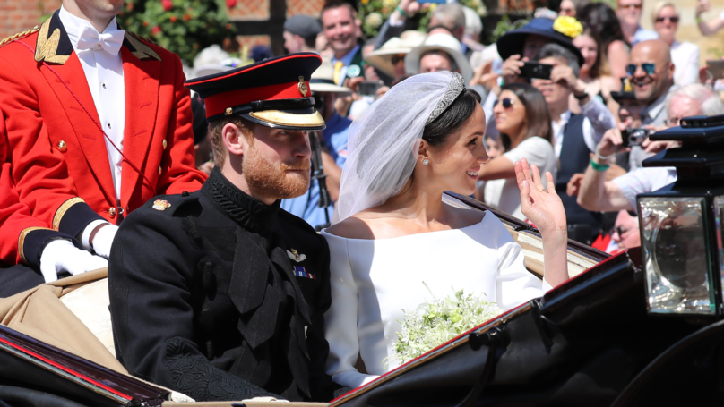 Royal Wedding 2018: Meghan Markle Spotted An Old Teacher In A Crowd Of Thousands At Her Wedding