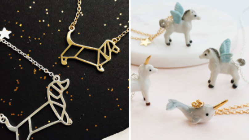 Up Your Style Game With Unicorn, Dog and Llama Jewellery