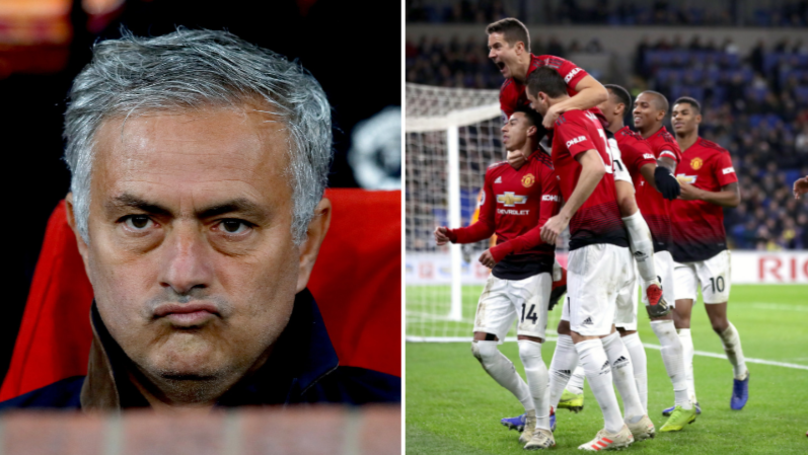 Manchester United Fans Are Giving Jose Mourinho A Good Kicking