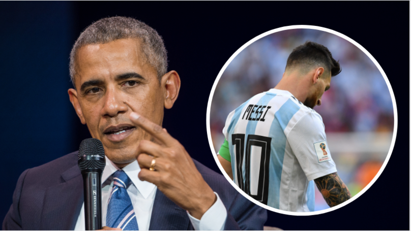 Former US President Barack Obama Offers Advice To Lionel Messi
