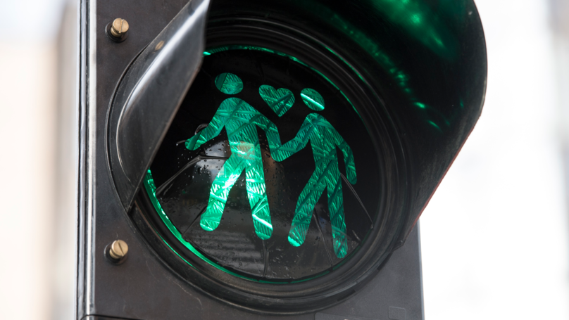 Australian Pedestrian Crossing Lights Now Depict Same-Sex Couples