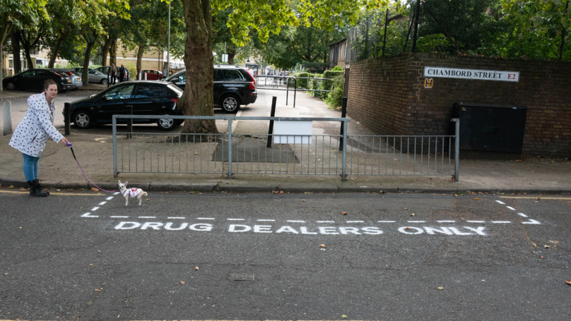 Street Artists Create 'Drug-Dealer Only' Zones To Force Police To Take Action