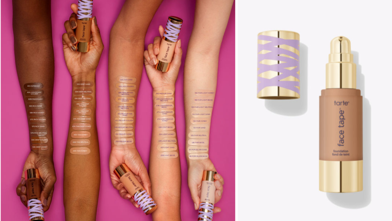 Tarte Releases Tape Face Foundation Inspired By Cult Concealer