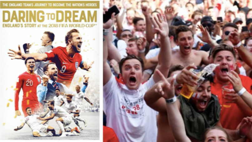 'Daring To Dream' Documentary Film On England's 2018 World Cup To Be Released