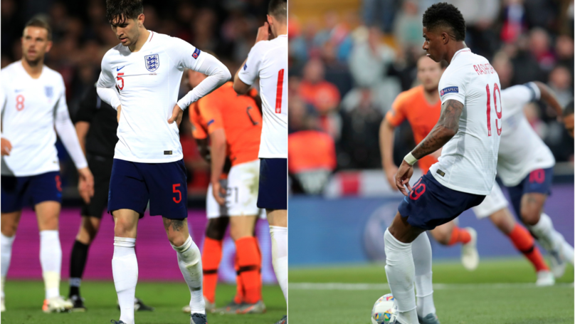 England Player Ratings: John Stones To Blame For Both Goals But Marcus Rashford Impressed