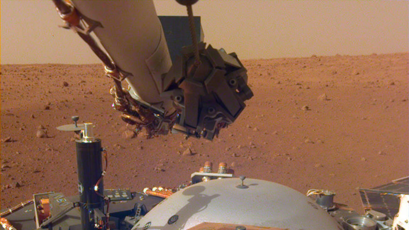 New Snaps From NASA InSight Probe Reveal Stunning Sight On Mars