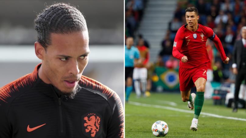 Cristiano Ronaldo Backed To Dribble Past Liverpool's Virgil van Dijk