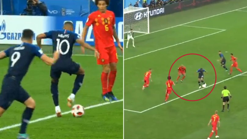 Can We Please Talk About Kylian Mbappe's 'Genius' Pass/Turn Against Belgium