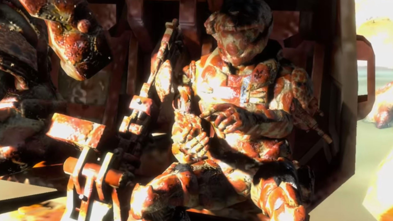 ​It's 'Halo: Reach' Except Everything Is Made Of Pizza