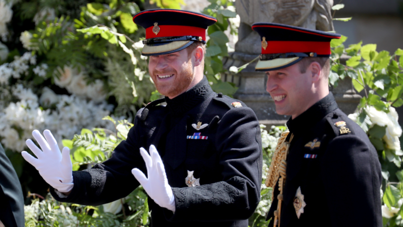 Prince William 'Nearly Floors' Wedding Reception Guests With Prank On Harry