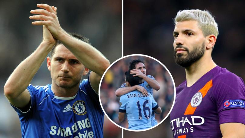 Sergio Aguero Names Frank Lampard As His Favourite Premier League Goalscorer Of All Time