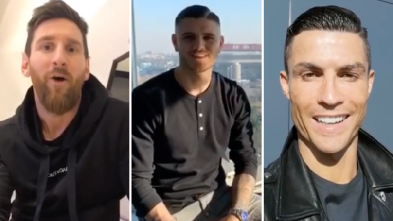 Mauro Icardi Sends The Greatest Video Birthday Message Of All Time To His Stepson