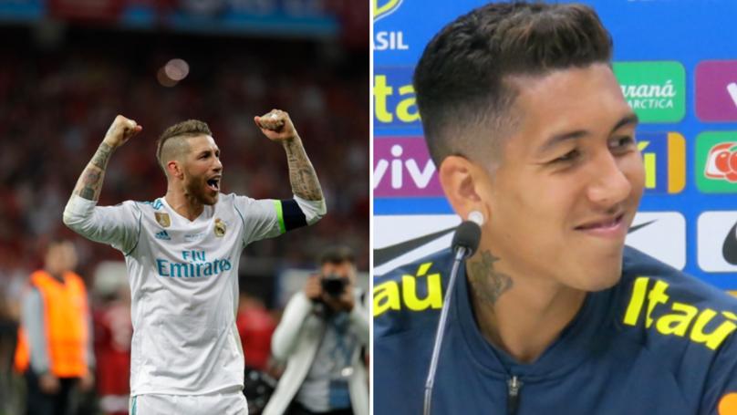 Roberto Firmino Calls Sergio Ramos An 'Idiot' Over Recent Comments