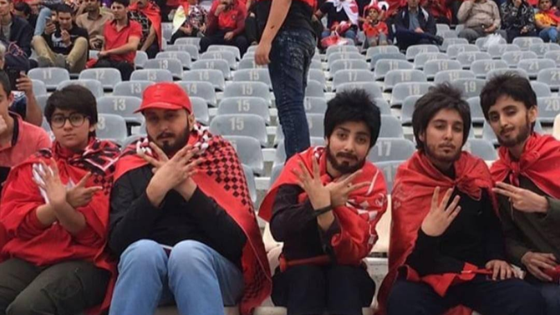 These People Snuck Into Football Stadium Where Women Are Banned Dressed As Men