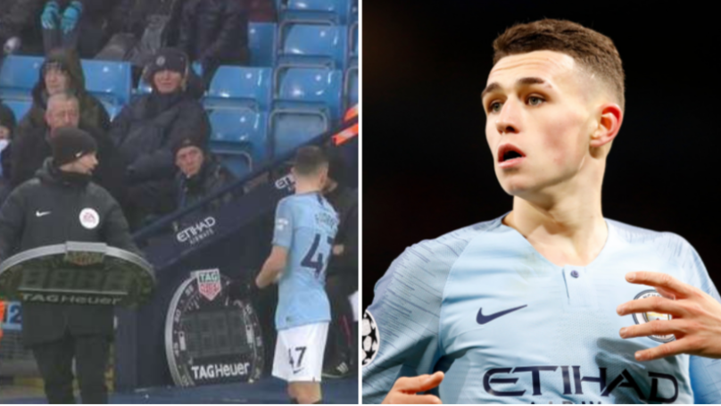 Phil Foden Never Got On Against Everton Despite Standing On The Touchline For Minutes