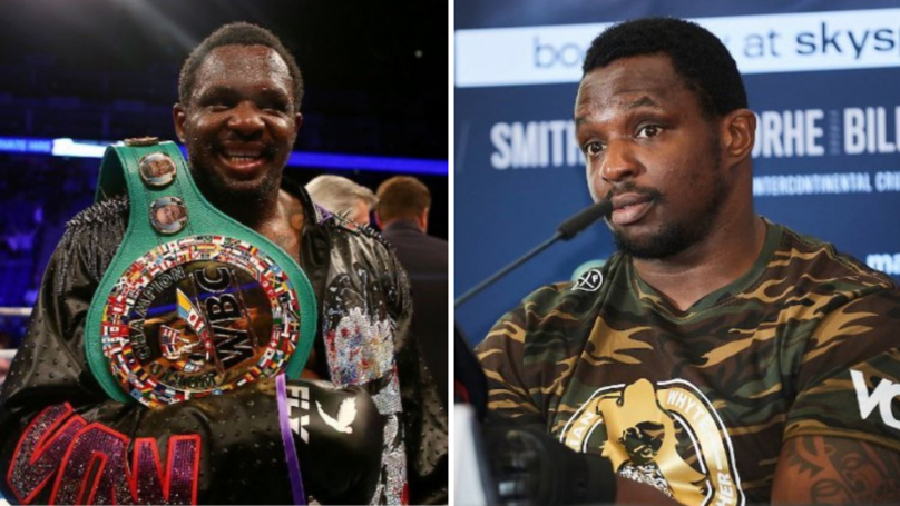 Dillian Whyte Has Broken His Silence Amid Doping Allegations