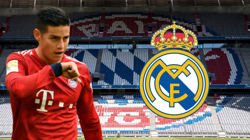 Real Madrid Place A Whopping Price Tag On James Rodríguez